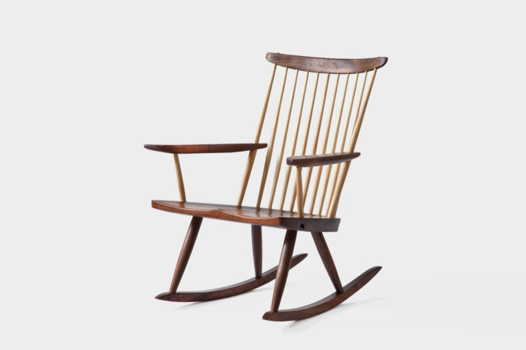 Lounge Chair Rocker - George Nakashima Woodworkers