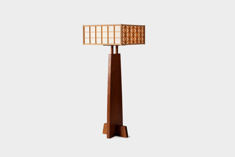 Asa-No-Ha Floor Lamp